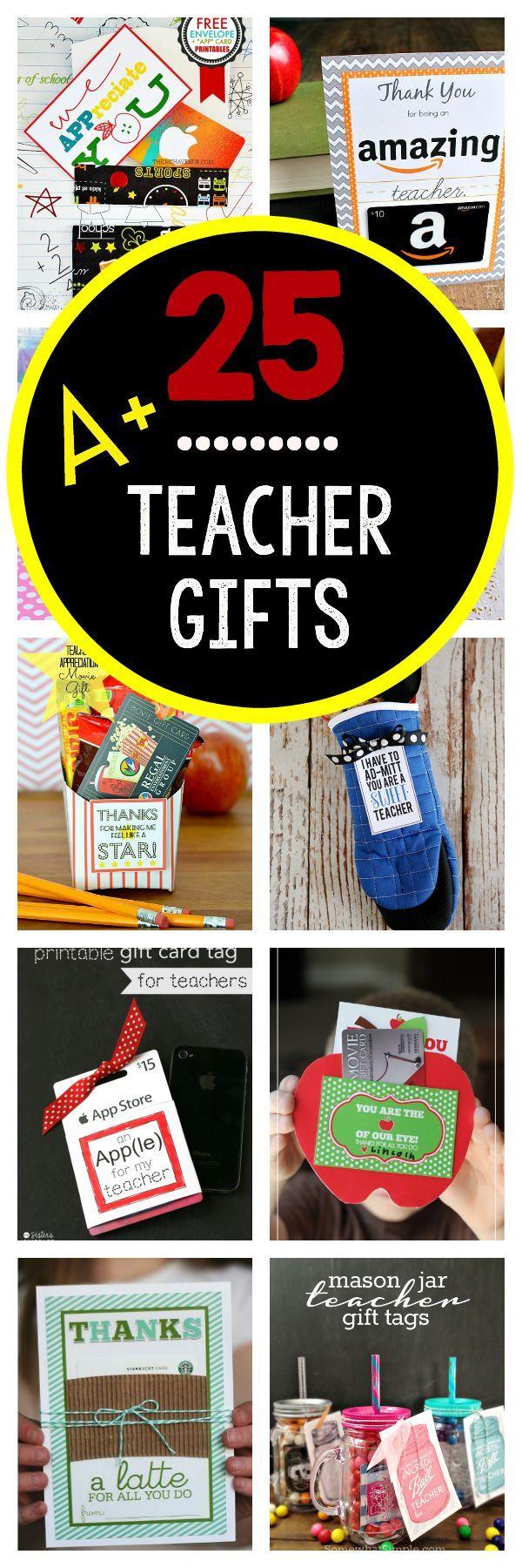 Teacher Appreciation Gifts That Teachers Will Really Love!