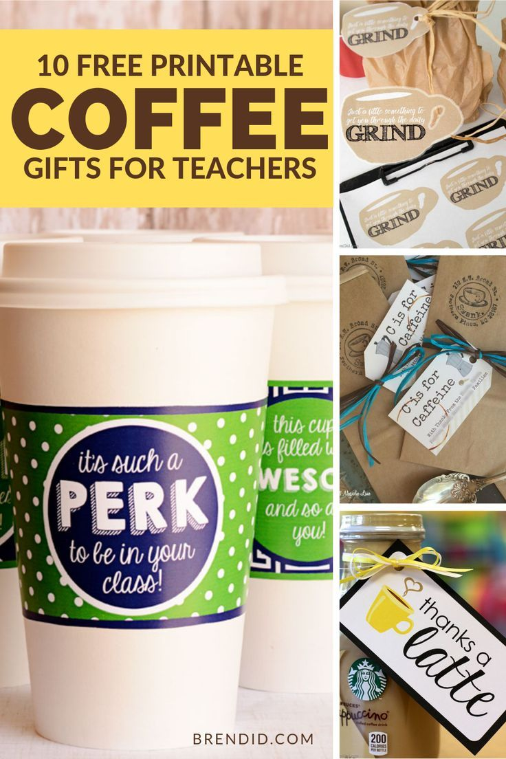 Need an easy and adorable gift idea?  These coffee gifts are easy to make and co...