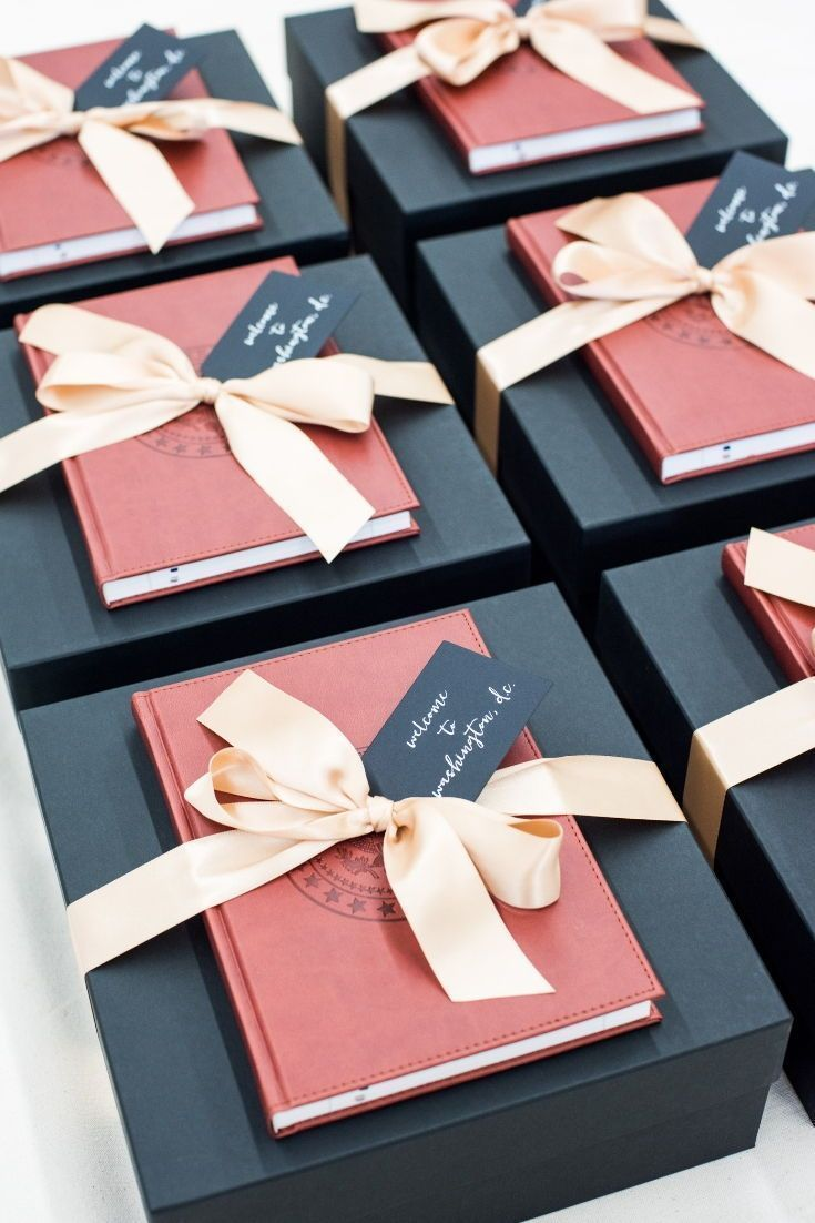 CORPORATE EVENT GIFTS//  Capital inspired black red and white professional gift ...