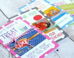 Teacher Appreciation Gift Card Holders