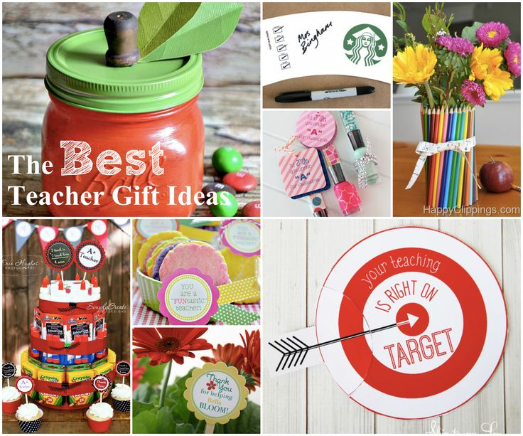 15 of the best teacher appreciation gift ideas as compiled by skiptomylou.org #t...