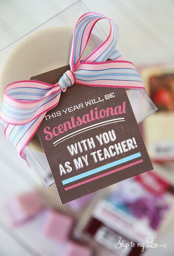 Back to school teacher gift idea: