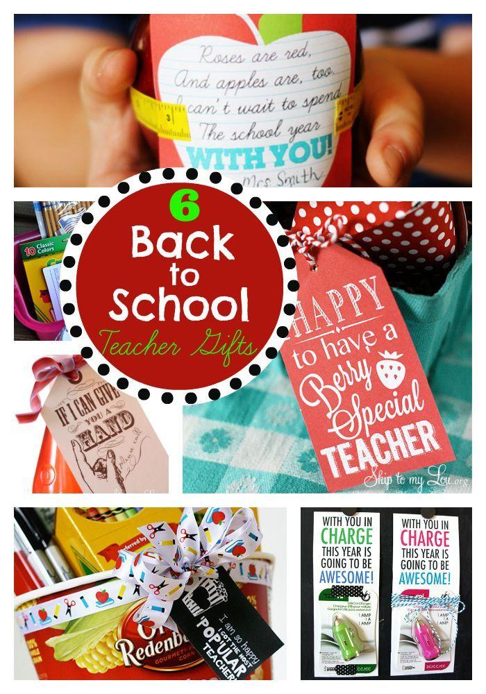 Back to school teacher gift ideas #backtoschool #idea skiptomylou.org