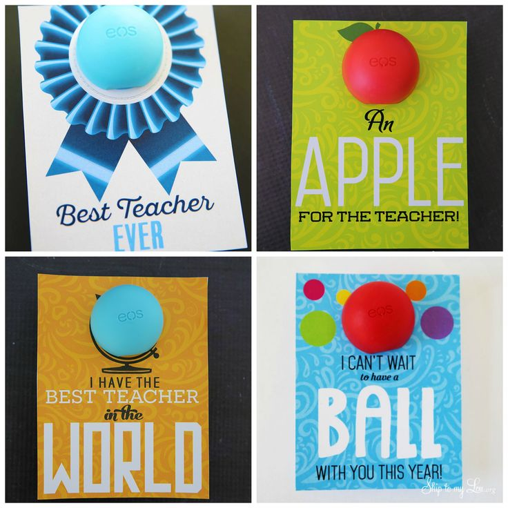 Looking for a last minute teacher gift? This idea only takes a few minutes. Thes...