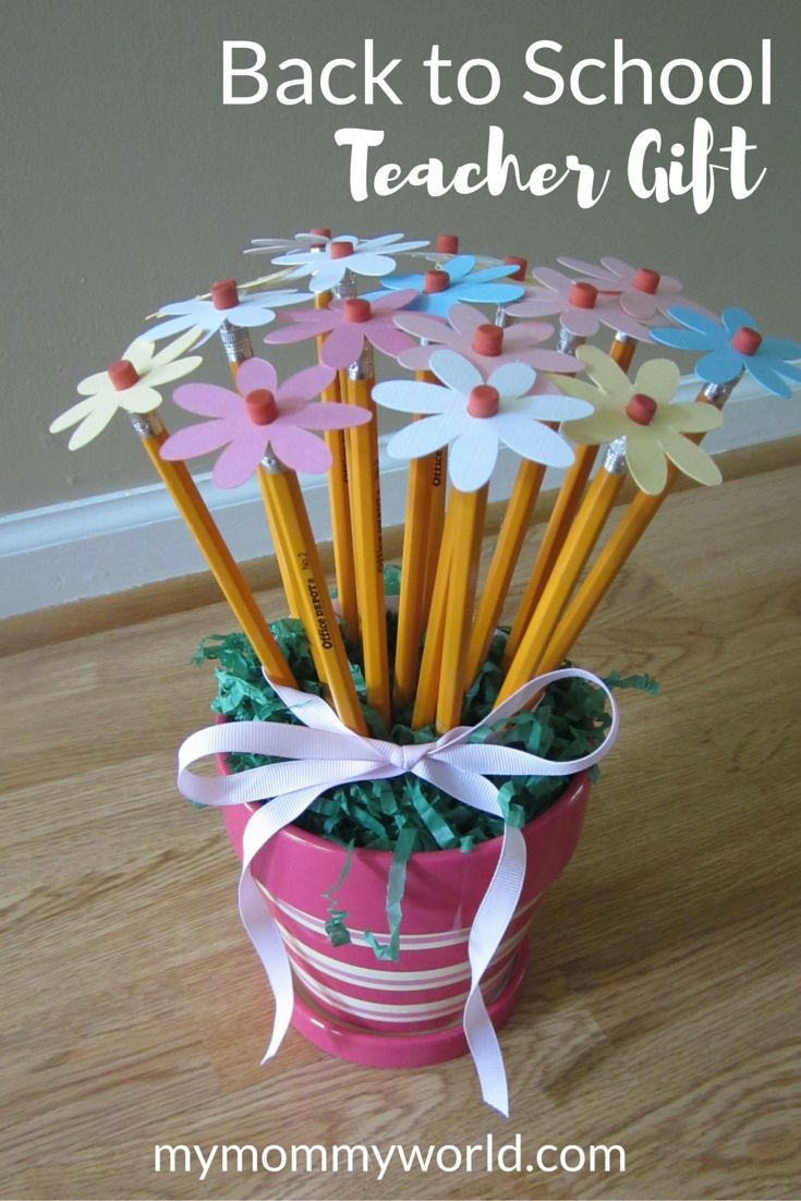 What teacher would't like to have a pretty bouquet of flowers on their first...