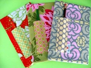 teacher appreciation gift idea: personalized fabric covered journals