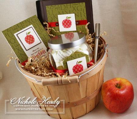 teachers sppreciation gift idea: journal jar ensemble