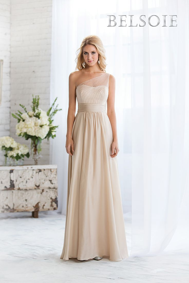 Belsoie Fall 2014 Bridesmaid Dress