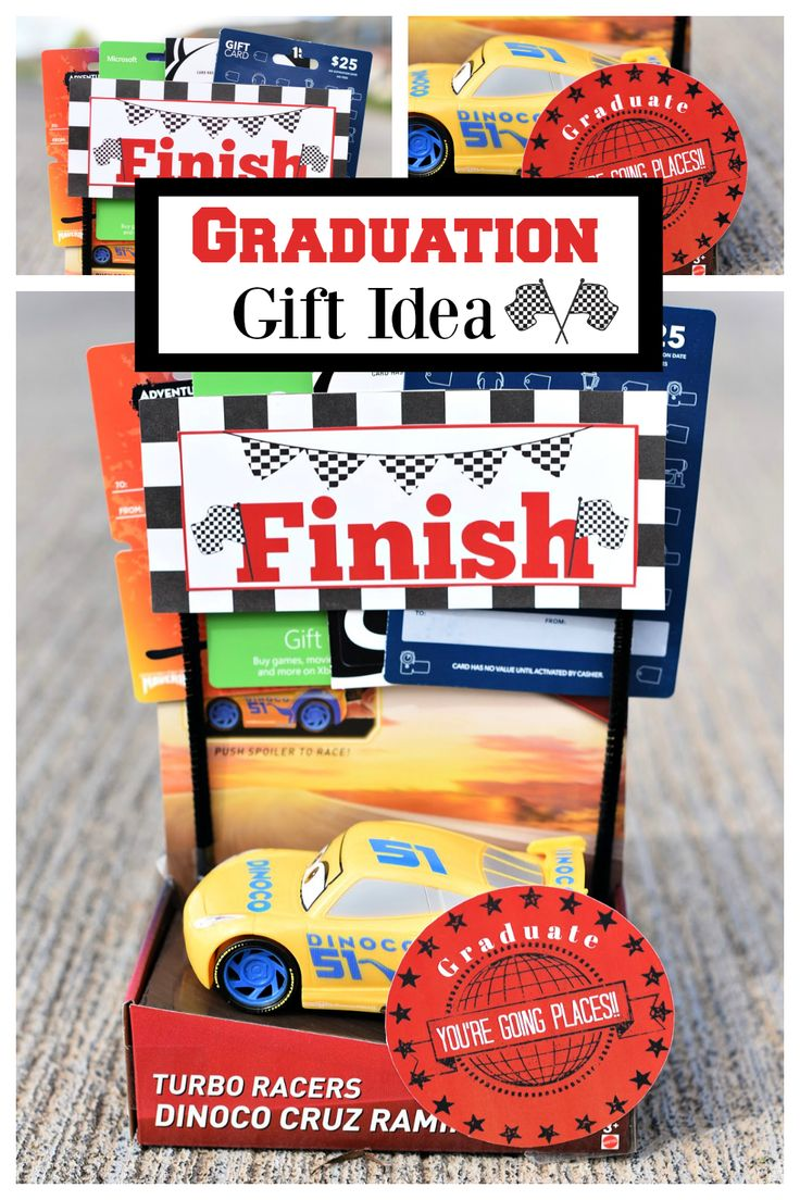 Fun and simple DIY graduation gift idea! If you have a graduate we have the perf...