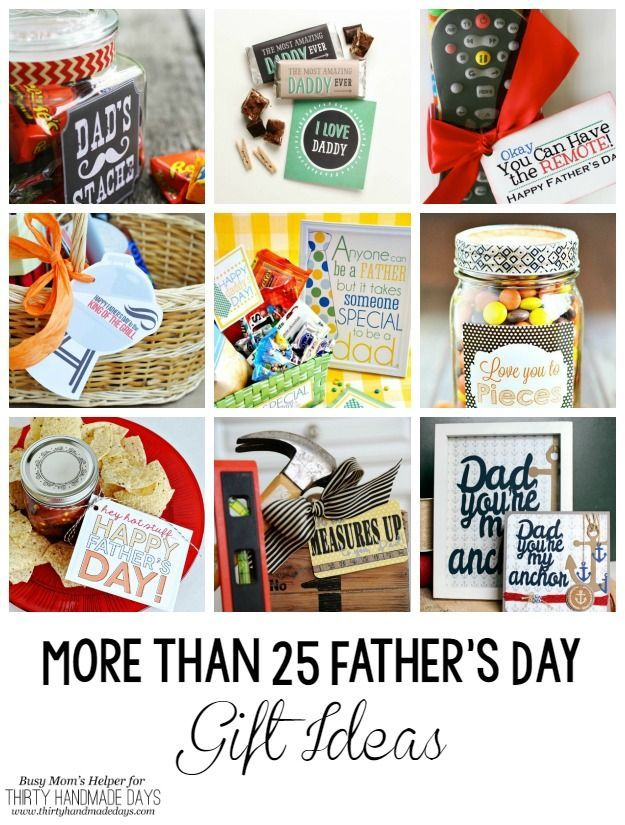 More than 25 Awesome Father's Day Gift ideas you can make yourself! | BusyMomsHe...