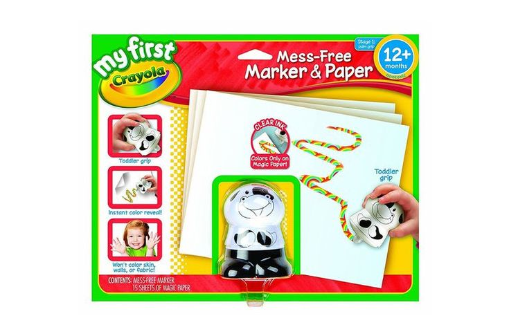 A mess-free coloring kit is a Mother's Day gift toddlers can create on their own...
