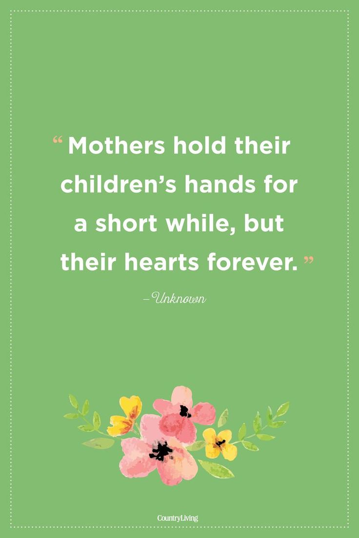 Although we don't hold mom's hand forever, she always lives in our heart.  #quot...