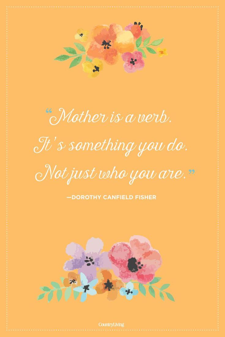 Being a mom isn't just your title–it's everything you do.  #quotes #mothersday...