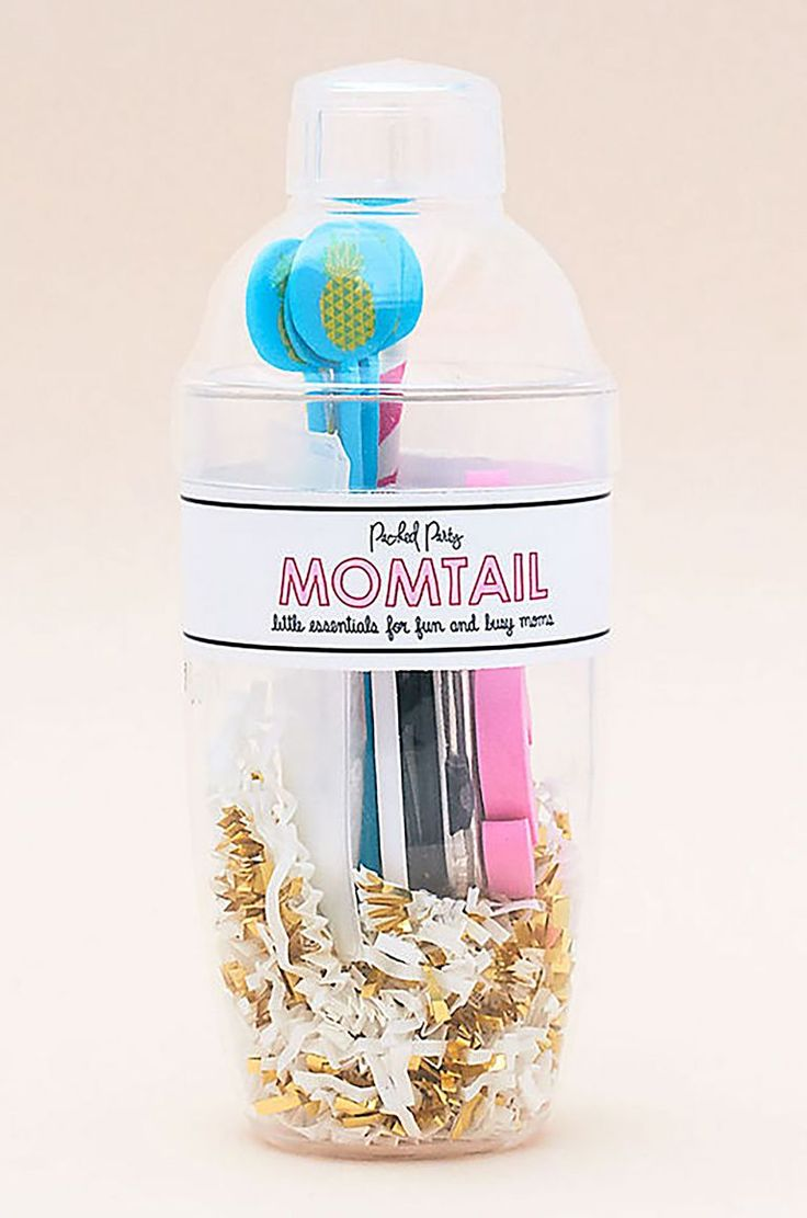 Give Mom the gift of relaxation on Mother's day with a cocktail kit just for her...