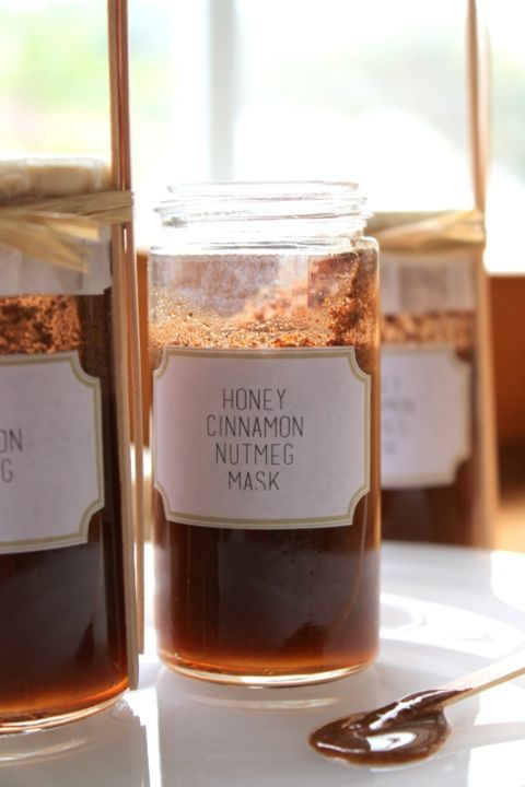Honey cinnamon nutmeg mask:  Trips to the spa can be pricey, so whip up this inv...