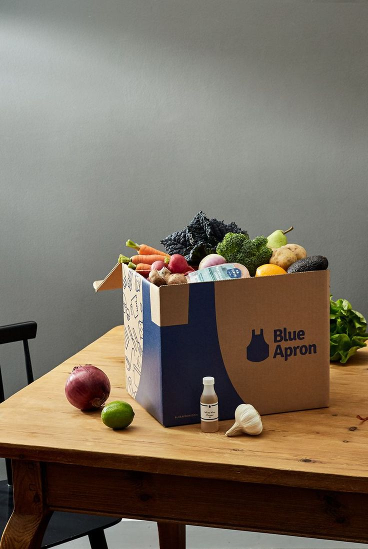 It's tough to find time to cook when you're a new mom, so a Blue Apron subscript...