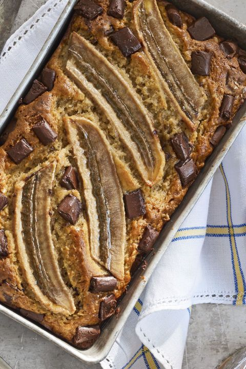 One-Bowl Chocolate Banana Bread:  Since this brunch favorite takes just 20 minut...