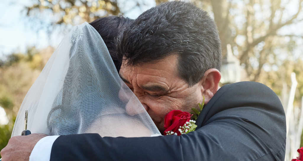 emotional photos of the wedding
