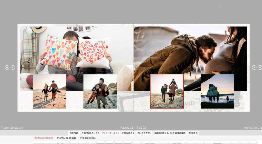 how to make digital photo album