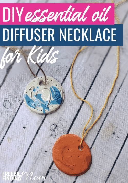 DIY Jewelry Tutorials: Homemade Essential Oil Diffuser Necklaces for Kids | Free...