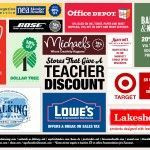 100+ Stores That Give a Teacher Discount. I wish I would have known about this a...