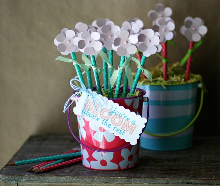 Back to school teacher gift idea: pencil boquet #backtoschool #teacher