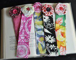 Beautiful Handmade Bookmarks {teacher appreciation}