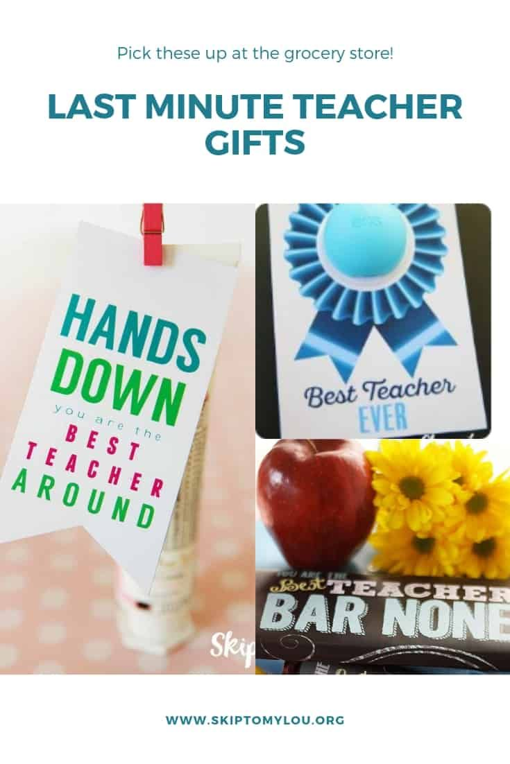 Best Teacher Hands Down Teacher Gift can be a last-minute practical gift to let ...