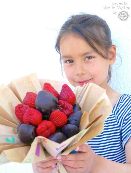 Chocolate dipped or covered strawberries for a teacher gift idea. Make a sweet s...