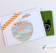 Free Printable Teacher Appreciation Gift Card Holder