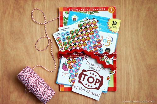 Great teacher appreciation gift idea put together by a former teacher! Includes ...