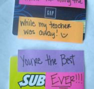 Substitute Teacher Appreciation by Somewhat Simple