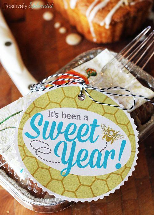 Sweet Year Teacher Appreciation Printables by Positively Splendid #printable #te...