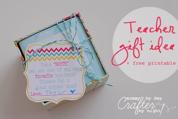 Teacher gift idea for back to school #backtoschool