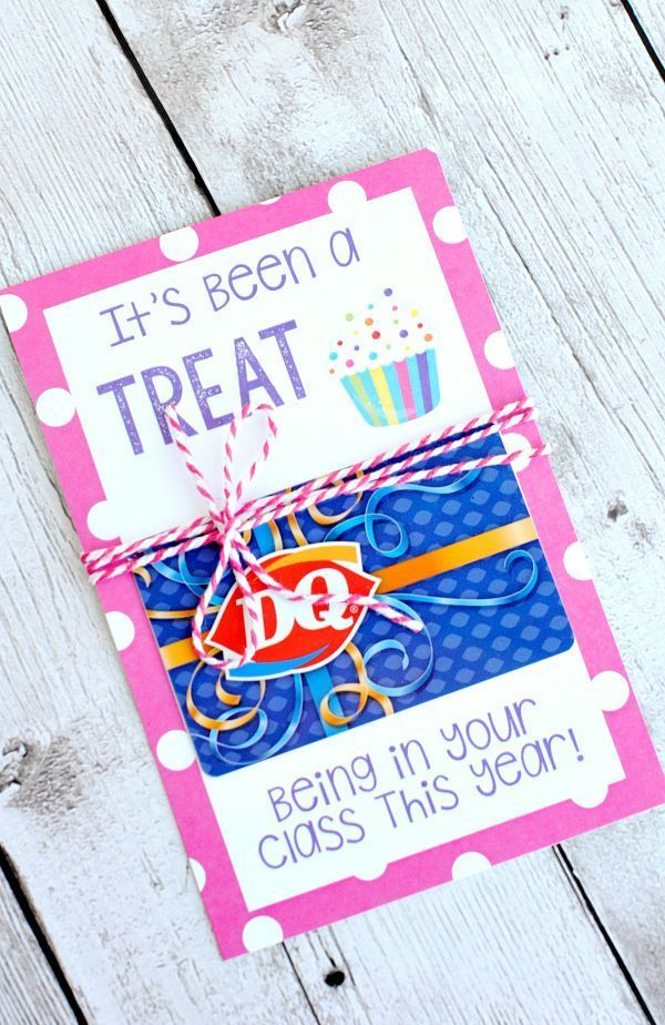 Teacher Appreciation Gift Card idea and Printable #print #teacher #gift
