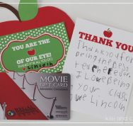 You are the apple of our eye {Free Teacher Appreciation Printable} by Kiki and C...