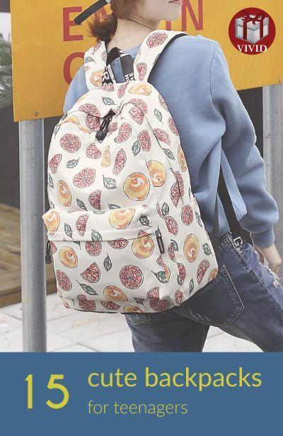 Pretty backpacks for high school (cute backpacks for teens)
