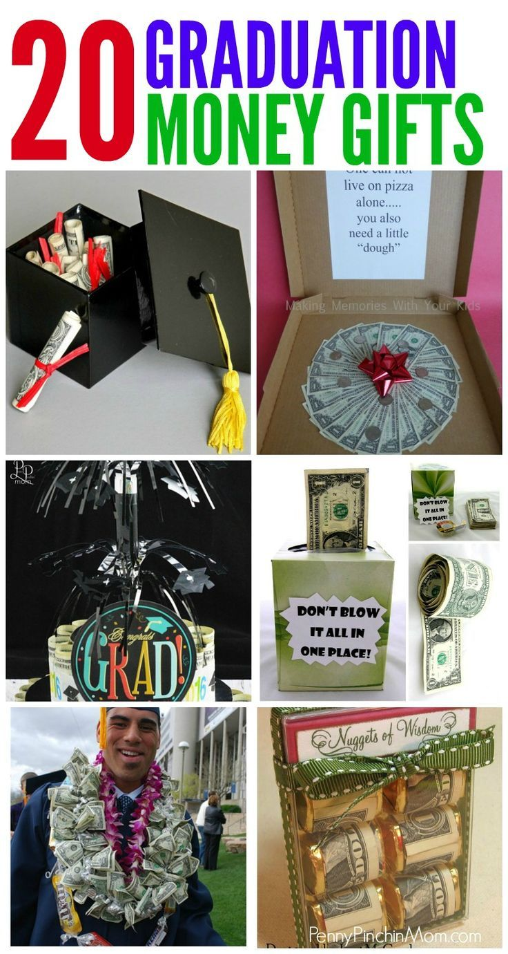 Graduation Gift Ideas Made From Money. Simple Graduation DIY Gift Ideas that any...