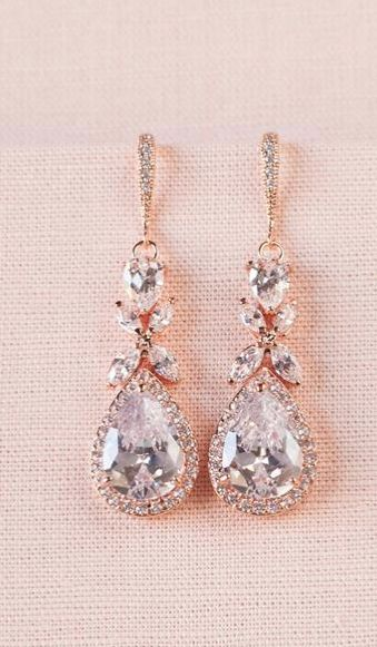 ROSE GOLD JEWELRY #Bridal