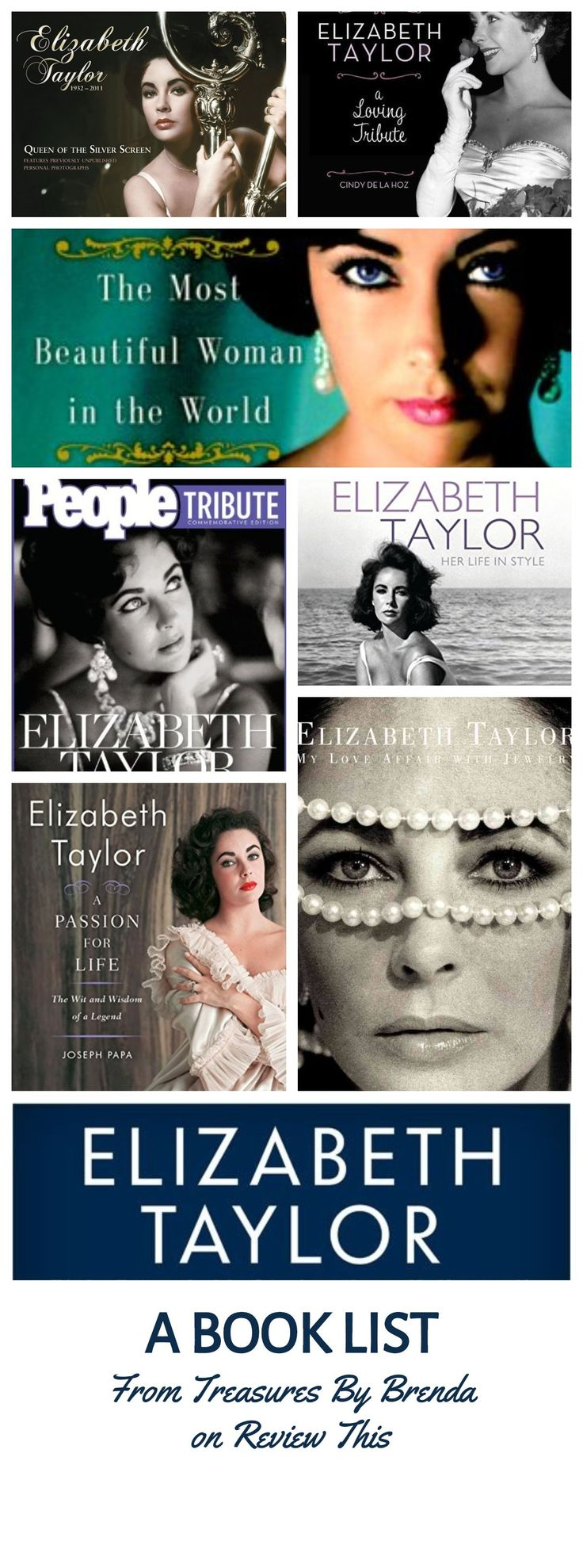 Elizabeth Taylor Book Reviews: A List from @ReviewThisBlogs