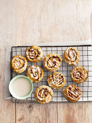 Almond Cinnamon Buns - get the recipe!