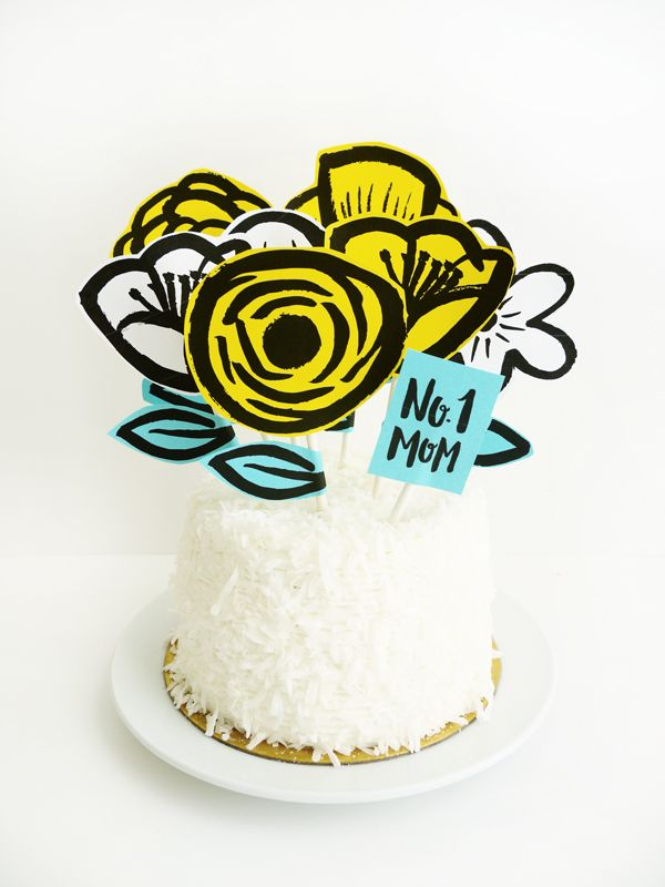 If you don't have time to make Mom a cake from scratch, buy a cake and decor...