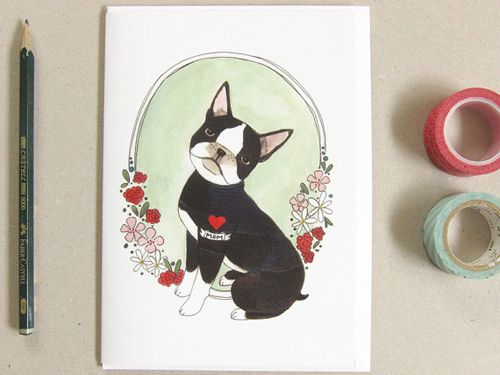 For the mom that loves her Frenchie ...