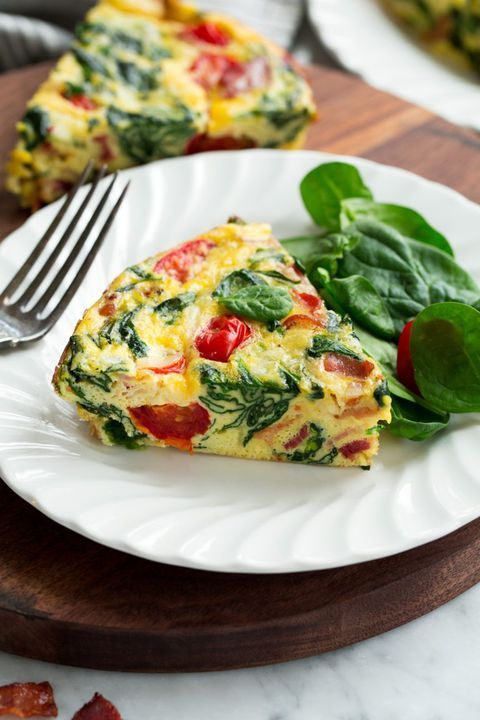 The best part about this fresh frittata is it can be made–and served!—in you...