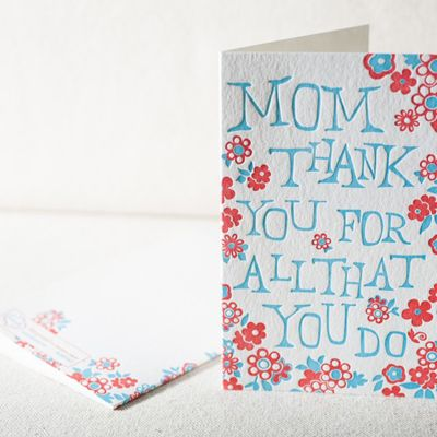 Mom—thank you for all that you do!