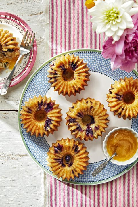 These Meyer lemon-blueberry cakes make for perfectly proportioned Mother's Day t...