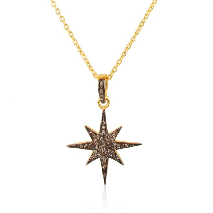 Handmade 14K Yellow Gold Natural Necklace