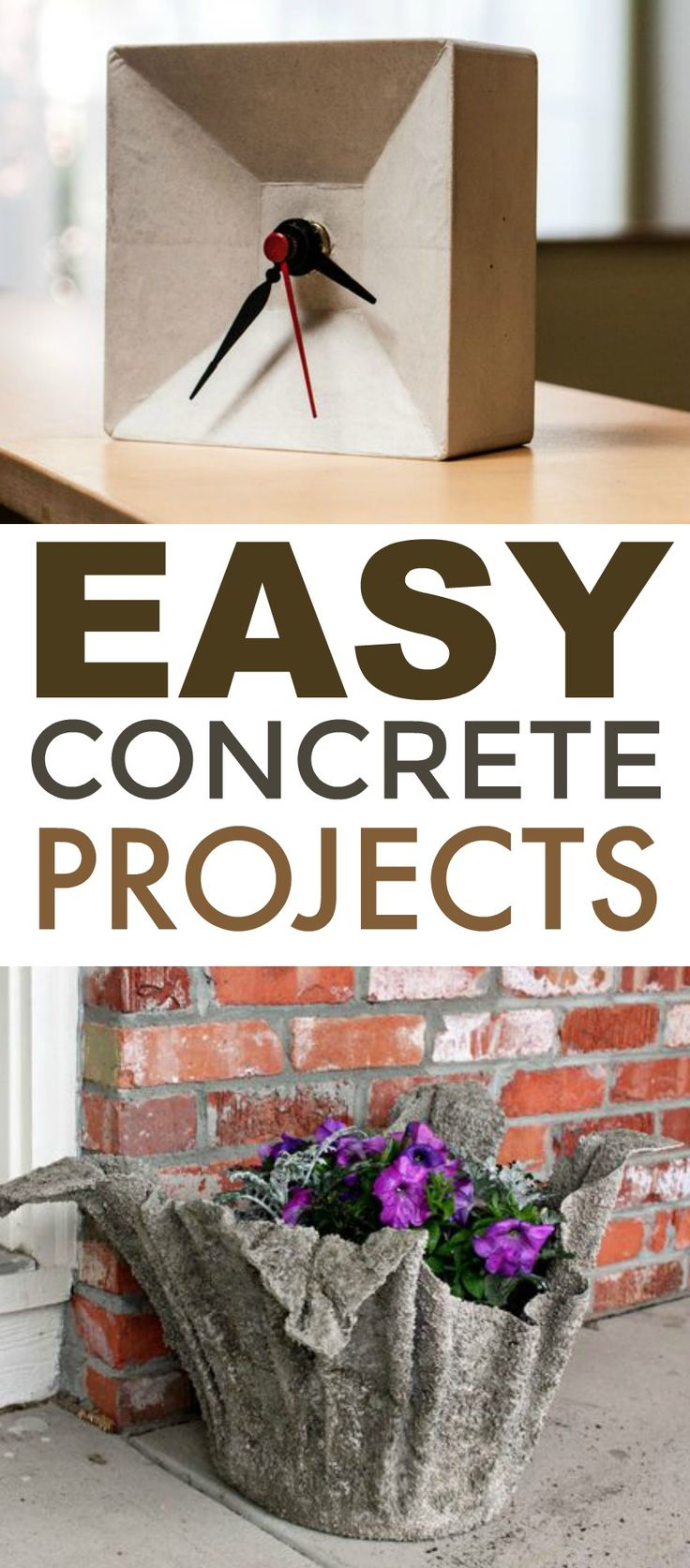I thought today  I would round up some of my favorite Easy Concrete Projects. Th...