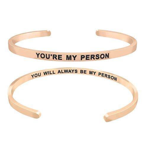 Minimalist matching friendship bracelets (Cute gifts for best friend)
