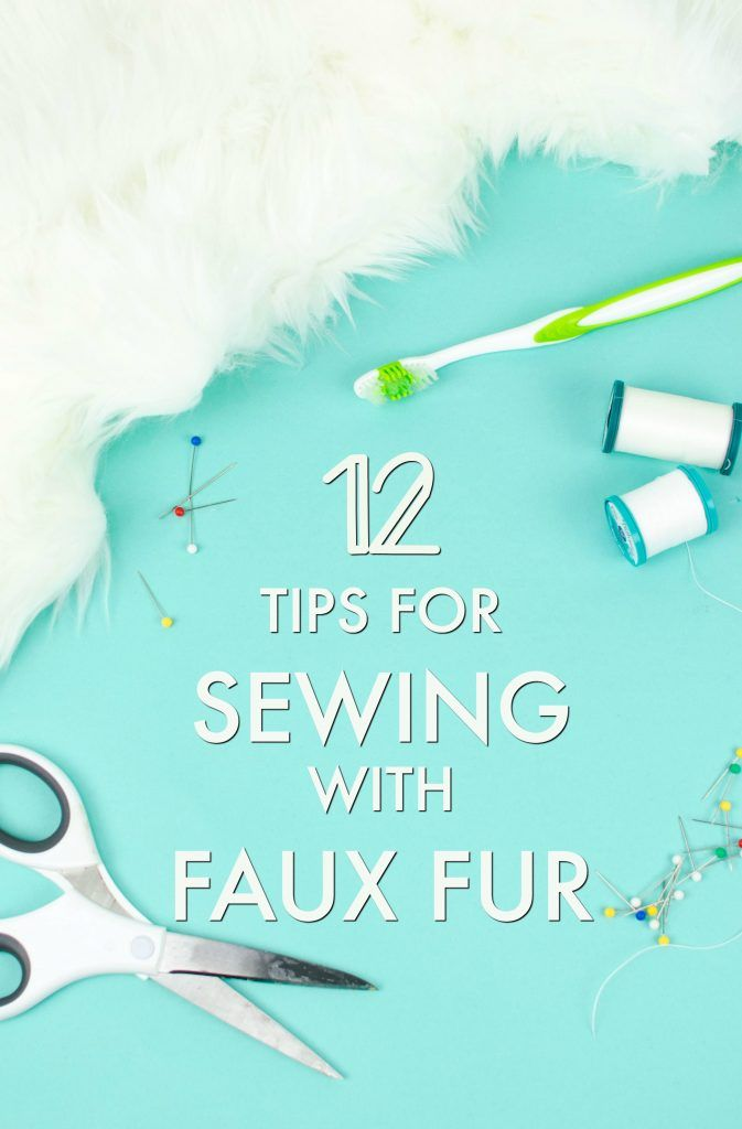 Sewing with faux fur can seem intimidating or impossible, but with  these tips o...